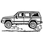 Land Rover Rubber Stamp