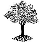 Leafy Tree Rubber Stamp