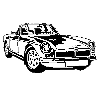 MGB Rubber Stamp