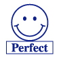 Perfect Happy Face Motivational Stamp - HS018