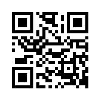 QR Website Address Self-inking Rubber Stamp