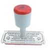 Rubber Stamp 75mm x 50mm