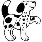 Rubber Stamps - Dalmation