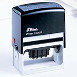 Self-inking Double Dater S-830DD 75 x 35mm