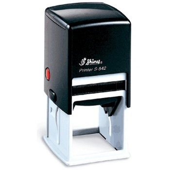 Self-inking Stamp Printer S-542 40mm x 40mm