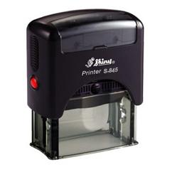 Self-inking Stamp Printer S-845 68mm x 24mm