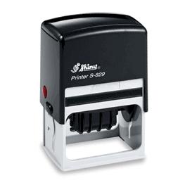 Self-inking Stamp Printer S-829 62mm x 38mm