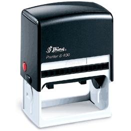 Self-inking Stamp Printer S-830 73mm x 36mm