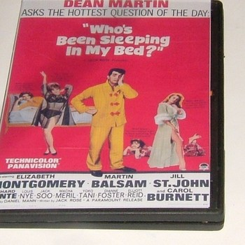 who's been sleeping in my bed  1963 dvd