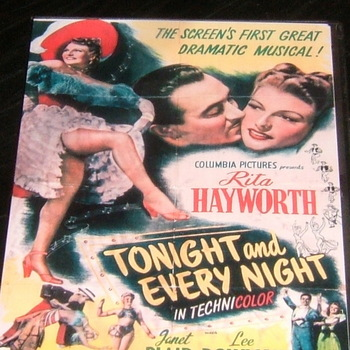 tonight and every night 1945 dvd rita hayworth