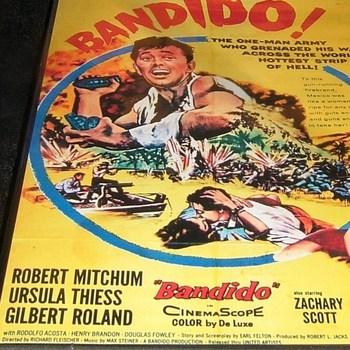 bandido 1956 dvd robert mitchum