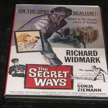 the secret ways 1961 dvd richard widmark