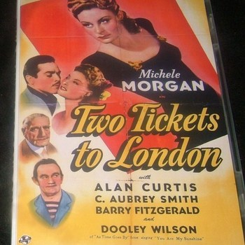 two tickets to london 1943 dvd  michele morgan