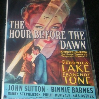 the hour before the dawn 1944 dvd veronica lake