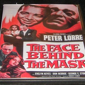 the face behind the mask 1941 dvd peter lorre