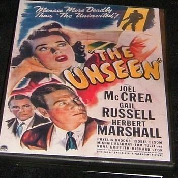 THE UNSEEN 1945 DVD joel mccrea