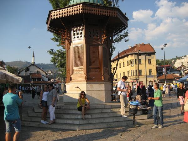 Charity work in Sarajevo