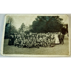 Cardiff YMCA St Fagans Outing 1906 RPPC
