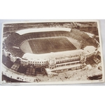 Wembley Stadium Photocrom Postcard + signatures Italy Water Polo Team
