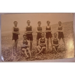 Penarth Swimming Club 1914 Bideford Real Photo Postcard