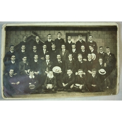 Cardiff Y.M.C.A.1907/1908 Real Photo Postcard