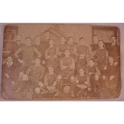 Cardiff Y.M.C.A. A.F.C. 1909-10 Real Photo Postcard