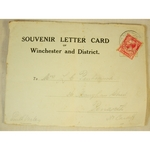 WWI Winchester 1915 Letter Card from A R Taylor RFA 3555