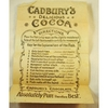 Cadbury's Novelty Advertising Fish With Instructions