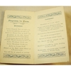 Penarth Swimming Club 1912 Agenda for Frome Visit