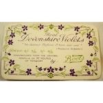 1914 Boots Devonshire Violets Calendar Card