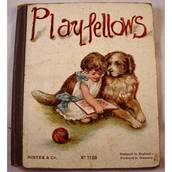 Playfellows by Nister & Co Children's Book 1922