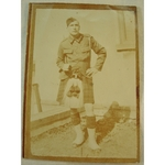 Unknown Scottish Soldier Real Photo (found in WWI collection)