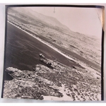 "RAF Official WWII Reconnaissance Photo 1: AIR HQ Eastern Med 28 Feb 1944 (5"" x 5"")"