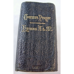 1914 Miniature Book of Common Prayer Hymns A&M, Horace Hart Oxford