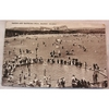 Barry Island, Sands & Bathing Pool, Vintage Postcard