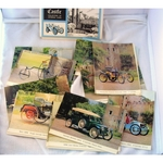 Caister Castle Collection of 20 Veteran Car Postcards