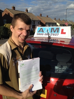 Driving Instructor Training Success