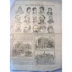 1887 Jubilee Guide (uncut part newspaper)