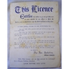 Rev Seckotine Marriage Licence (early 1900s)