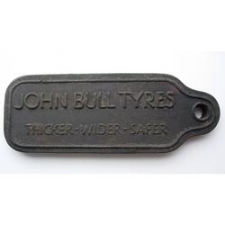 John Bull Tyres Rubber Key Fob