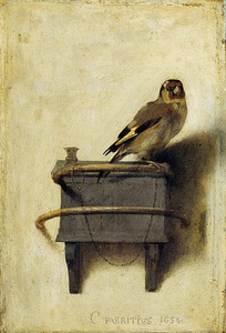 Painting of a Goldfinch