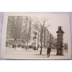 RAF Gatow Berlin Airlift 1948-49 Real Photo: A Corner of Kantzler Platz