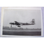 RAF Gatow Berlin Airlift 1948-49 Real Photo: Another Yank arrives at Gatow