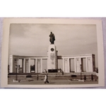 RAF Gatow Berlin Airlift 1948-49 Real Photo: Russian War Memorial