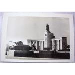RAF Gatow Berlin Airlift 1948-49 Real Photo: Russian War Memorial + Tank