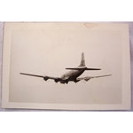 RAF Gatow Berlin Airlift 1948-49 Real Photo: Skymaster bound for Celle