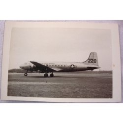 RAF Gatow Berlin Airlift 1948-49 Real Photo: Skymaster Taxis In
