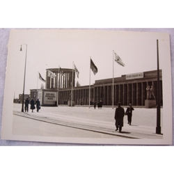 RAF Gatow Berlin Airlift 1948-49 Real Photo: Spring Fair at Exhibition Hall