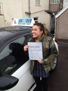 Well Done to Lucy Barnacle From Kingswood Bristol