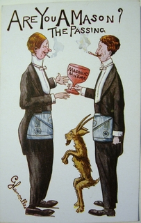 Humorous Masonic Postcards: Millar & Lang